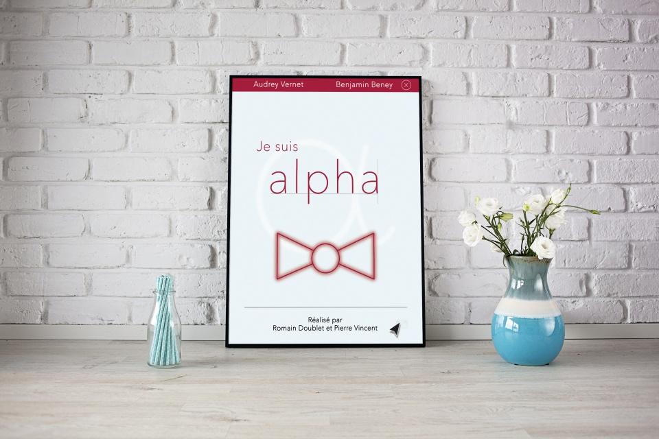 Affiche Je suis Alpha