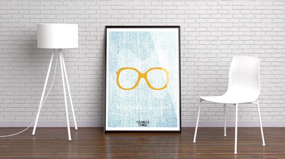 Affiche lunettes Barb