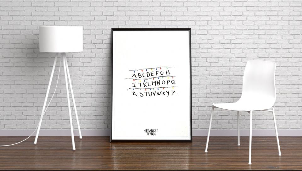 Affiche alphabet Byers