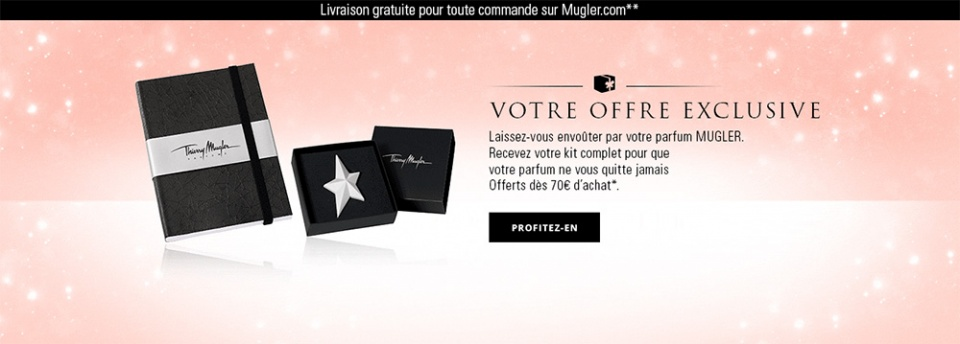 Slideshow homepage Mugler