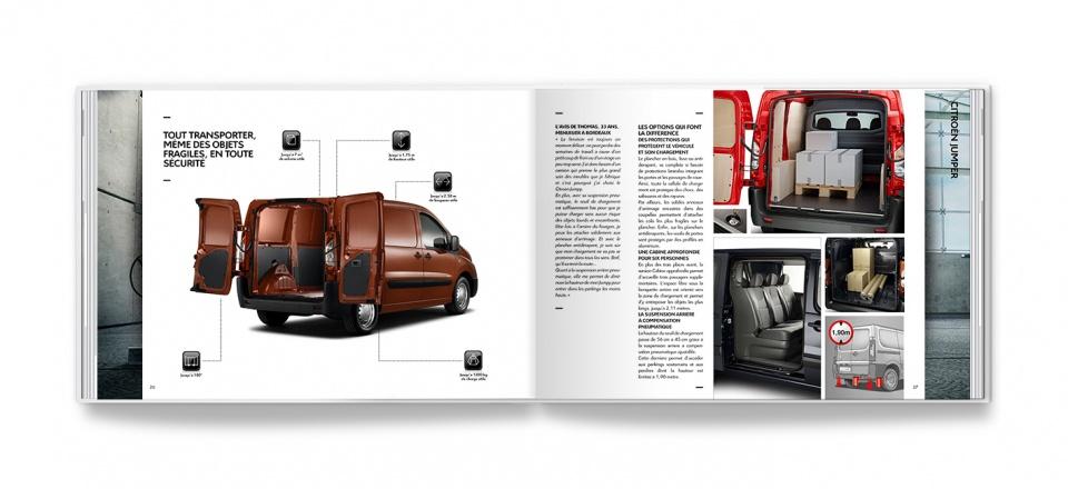 Pages intérieures Citroën Jumpy