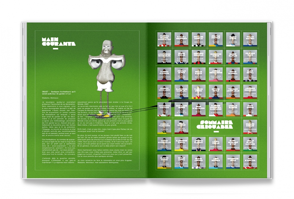 Edito et sommaire du magazine