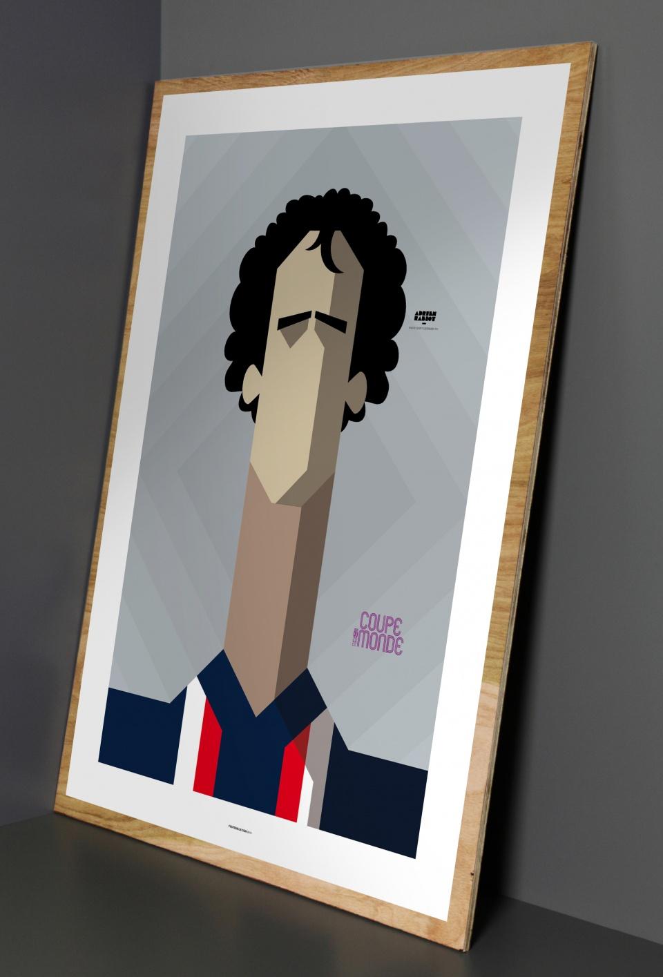 Poster Adrien Rabiot (Paris SG)
