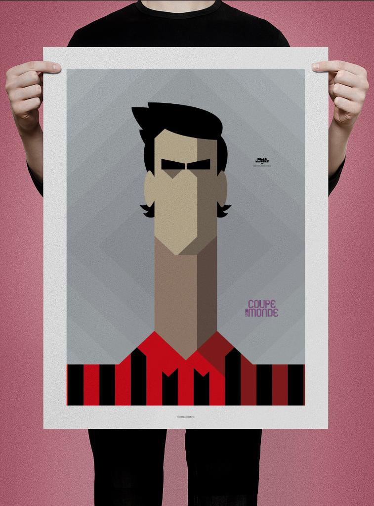 Poster Neal Maupay (OGC Nice)
