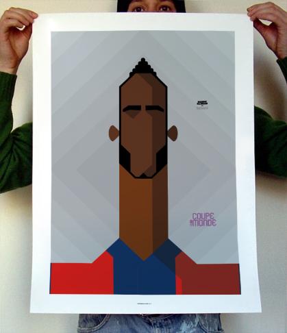 Poster Lenny Nangis (SM Caen Calvados)