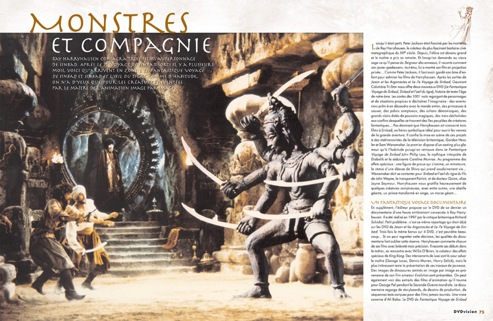 "Dossier ""Heroic Fantasy"" - double page 7/8"