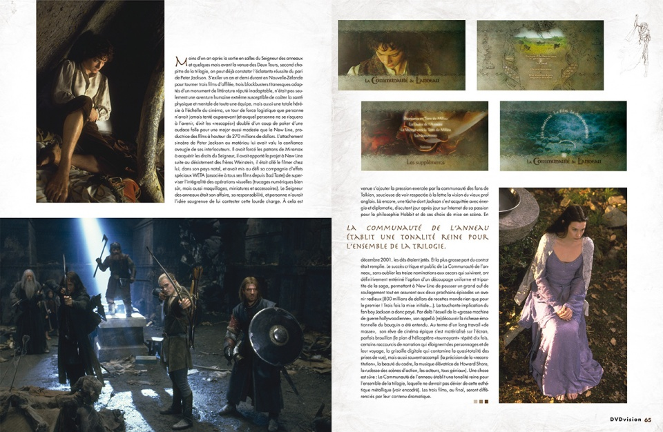 "Dossier ""Heroic Fantasy"" - double page 2/8"