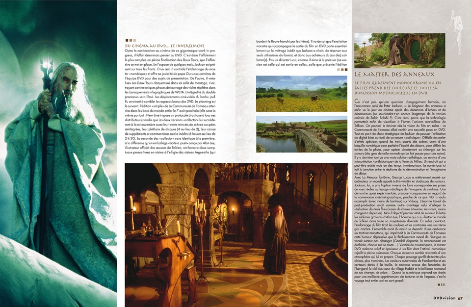 "Dossier ""Heroic Fantasy"" - double page 3/8"