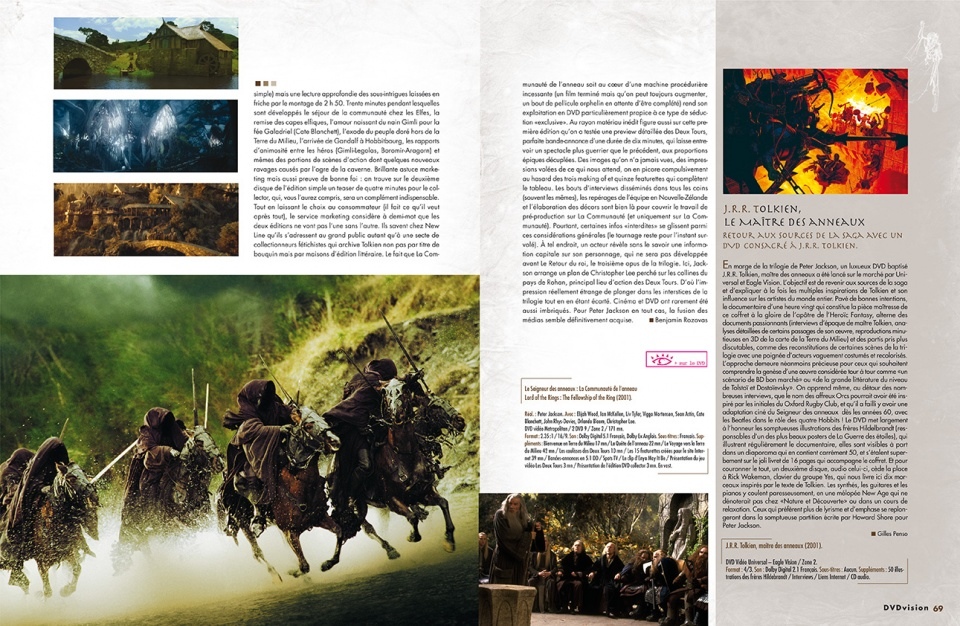 "Dossier ""Heroic Fantasy"" - double page 4/8"