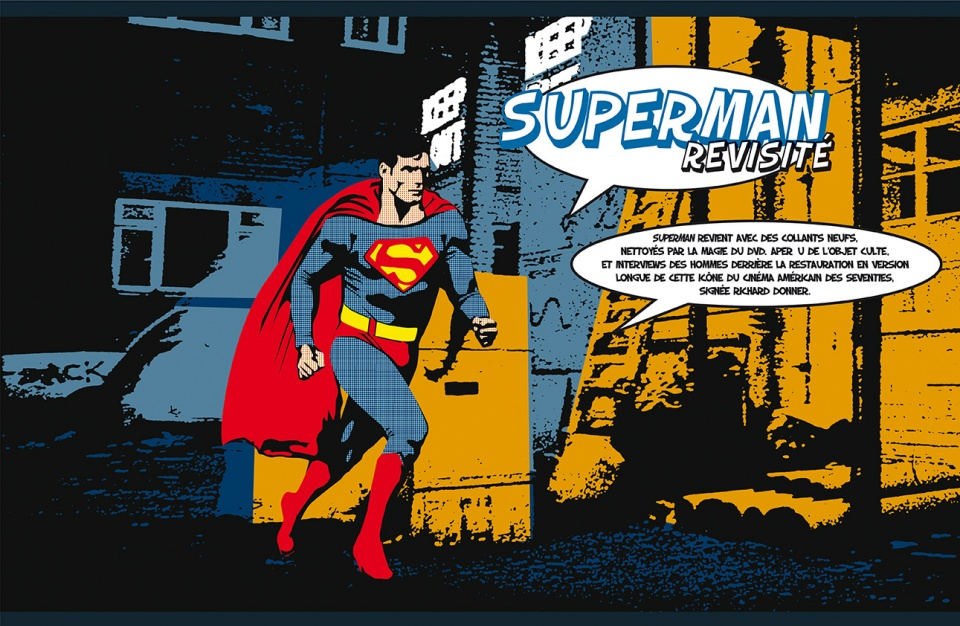 "Dossier ""Superman"" - double page 1"