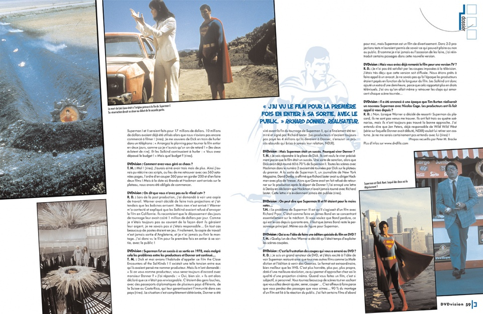 "Dossier ""Superman"" - double page 2"