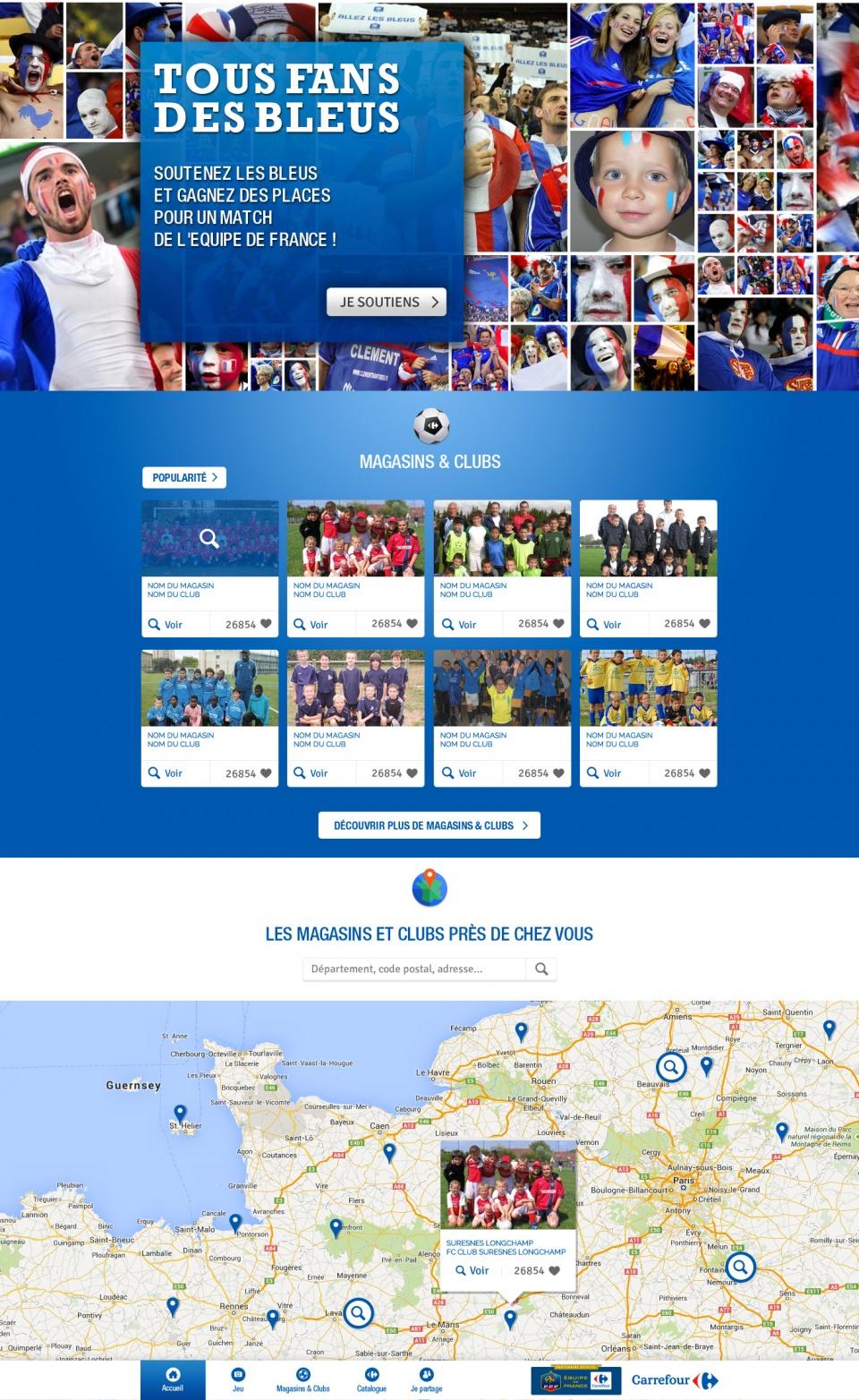 """""""Tous Fans des Bleus"""""""