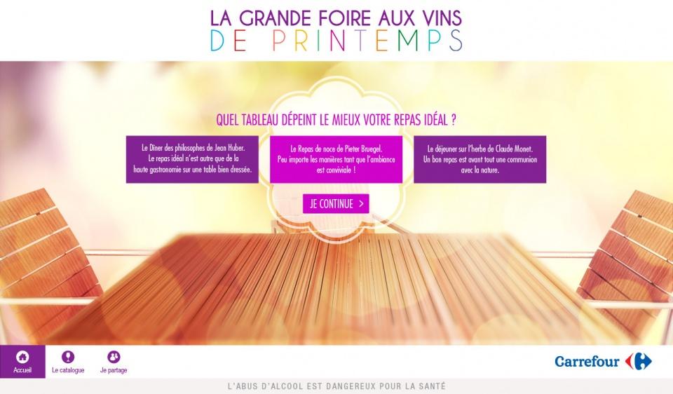 Carrefour - Foire aux vins