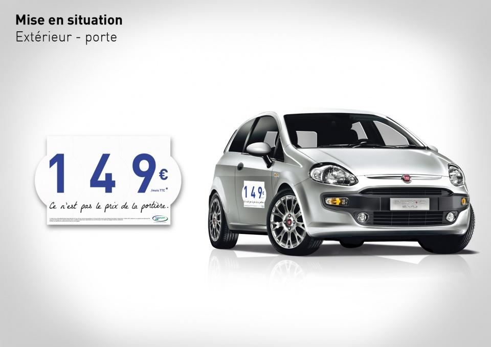 Fiat Punto Evo-Affichage in-store
