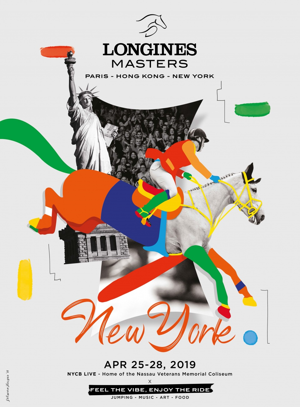 Campagne d'affichage Longines Masters
