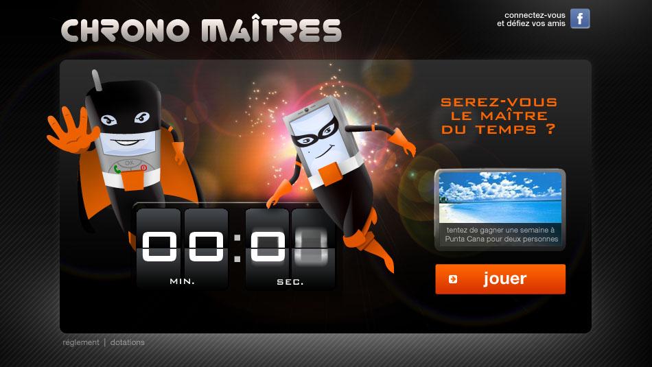 Orange - Chrono Maîtres