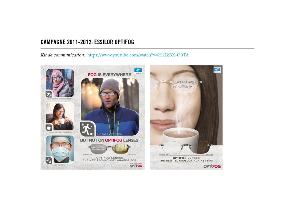 Essilor: Optifog (Sortie)