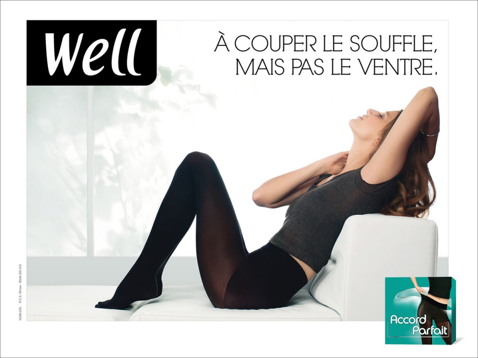 """Well """"Collant"""" - Affichage"""