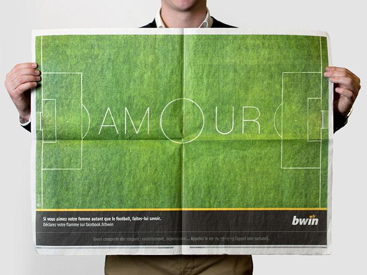 """Bwin """"Love"""" - Presse"""
