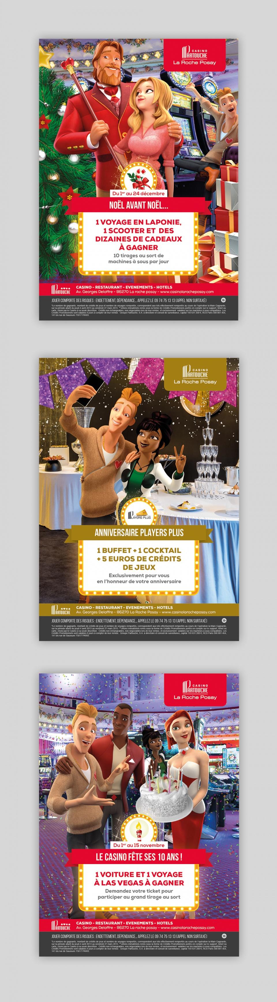 Affiche Casinos PARTOUCHE