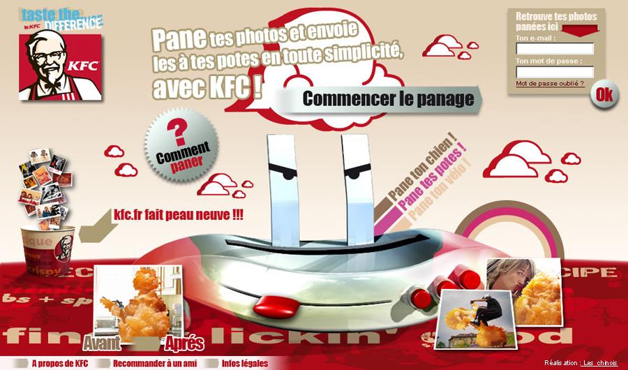 KFC panificateur home