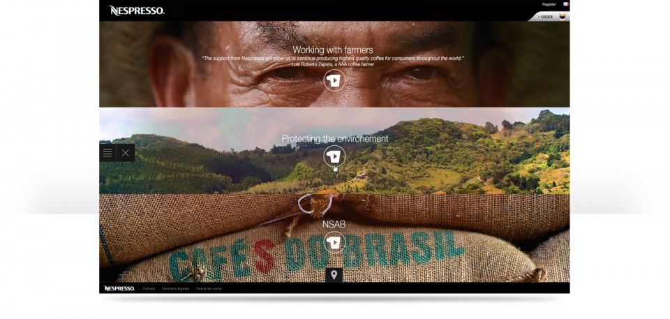 Explore Nespresso world