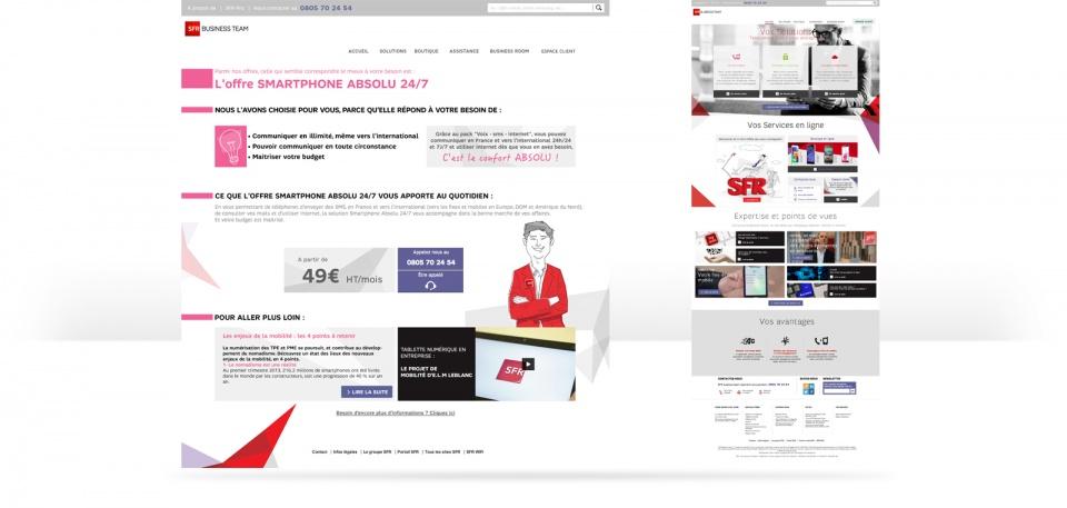 Webdesign et UX
