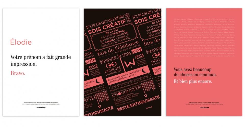 affiche lancement du brand book