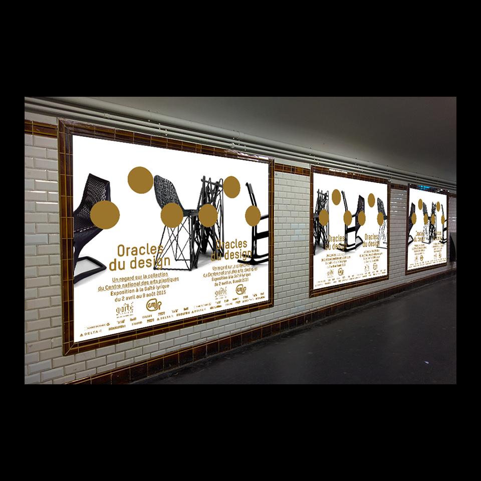 Affichage métro