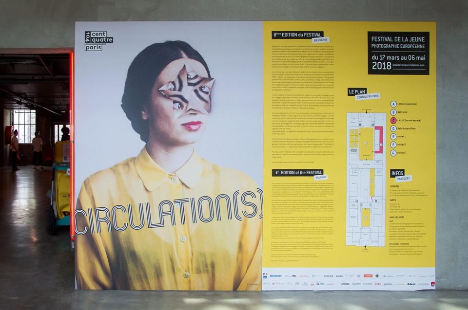 Panneau de présentation de l'exposition