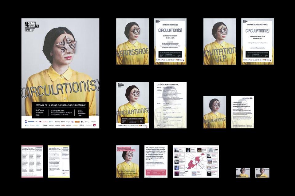 Supports de communication : affiche, invitations, flyers, bulletins...