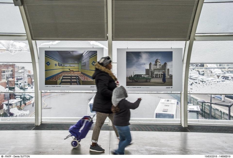 Formats exposés dans le métro de Paris