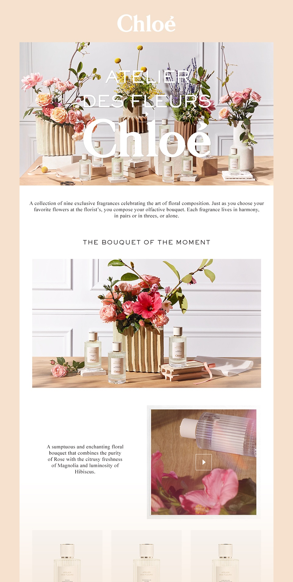 Chloé / Atelier des Fleurs