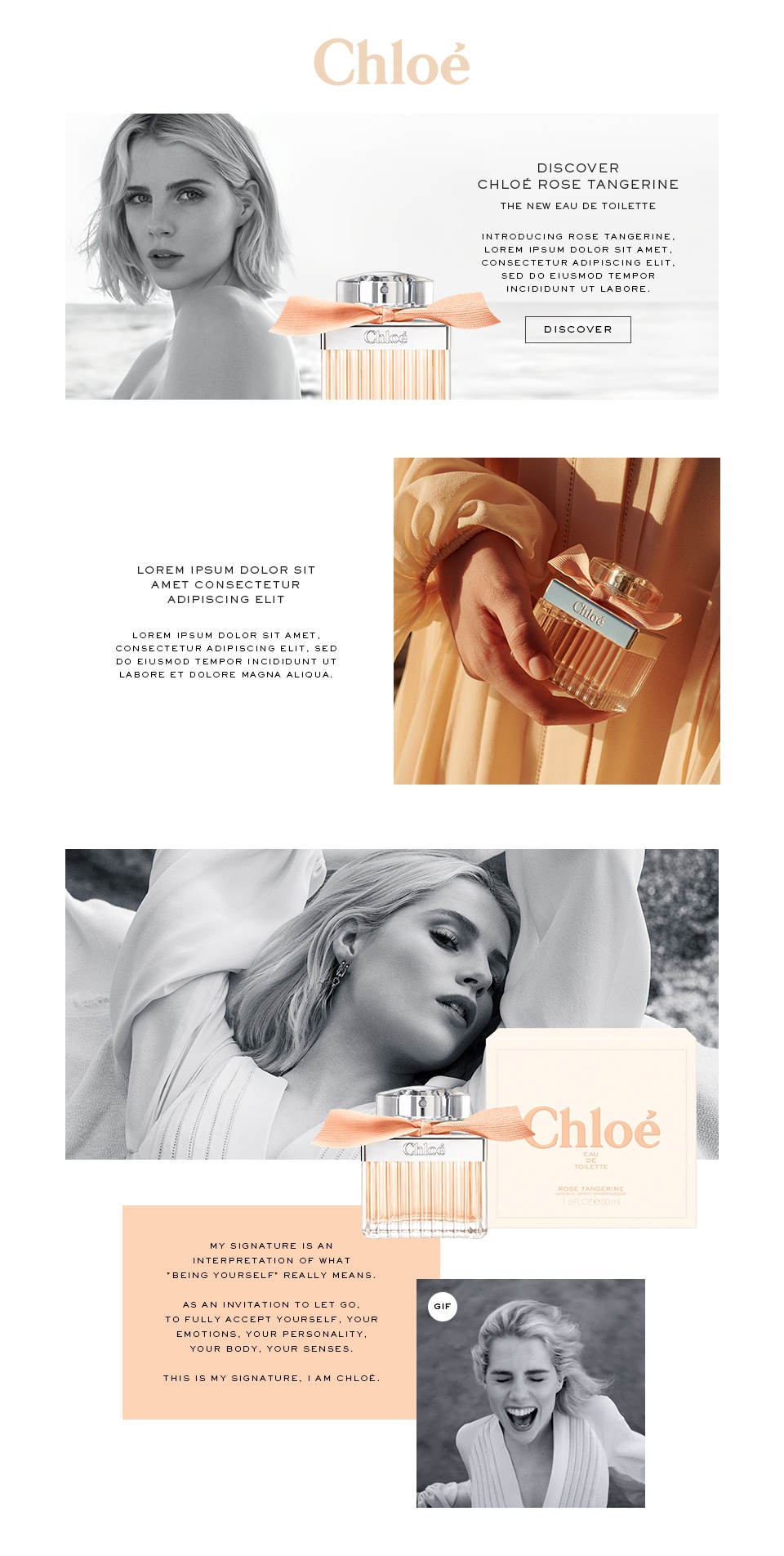 Chloé / Rose Tangerine EDT