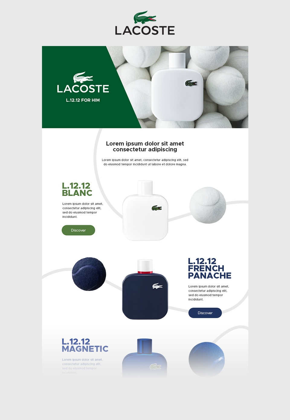 Lacoste / L.12.12 & Signature