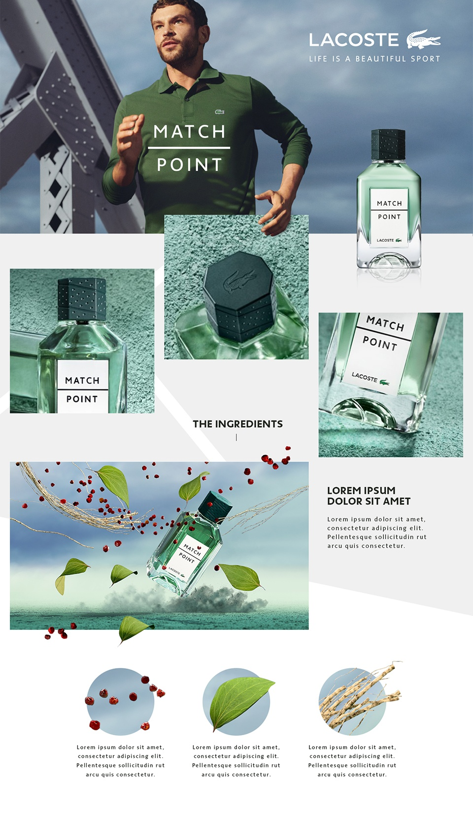 Lacoste / Match Point