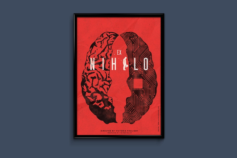 Affiche court metrage Ex Nihilo