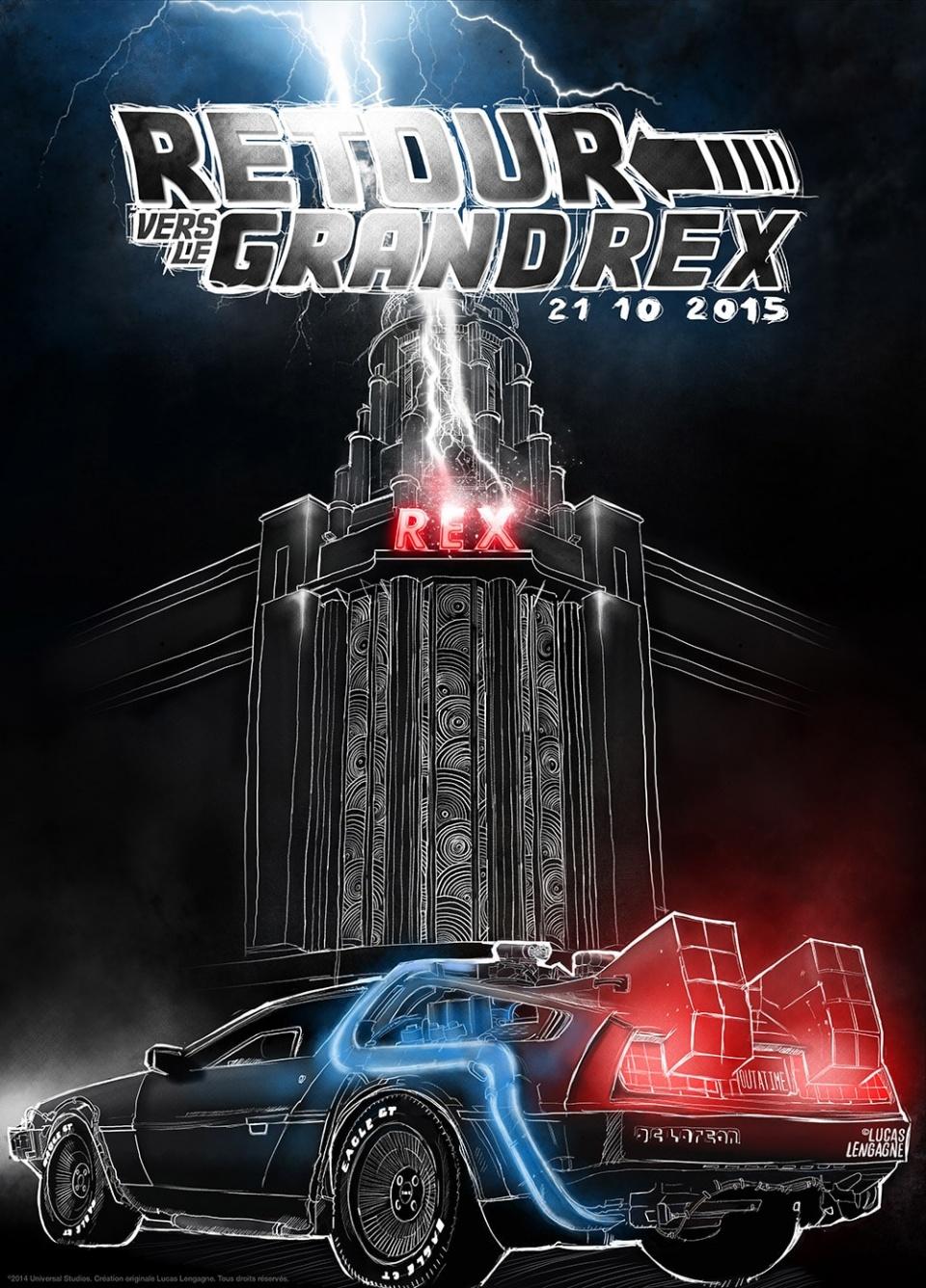 Affiche Retour Vers le Grand Rex