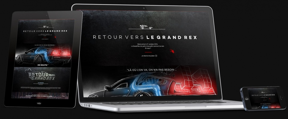 Website Retour vers le Grand Rex