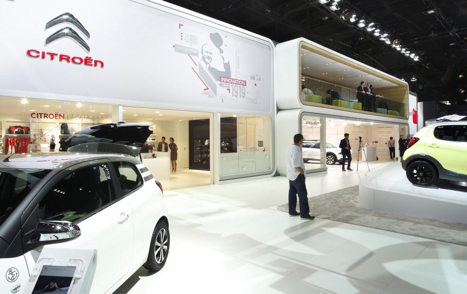 Stand Citroën et DS - Salon de l'automobile 2014