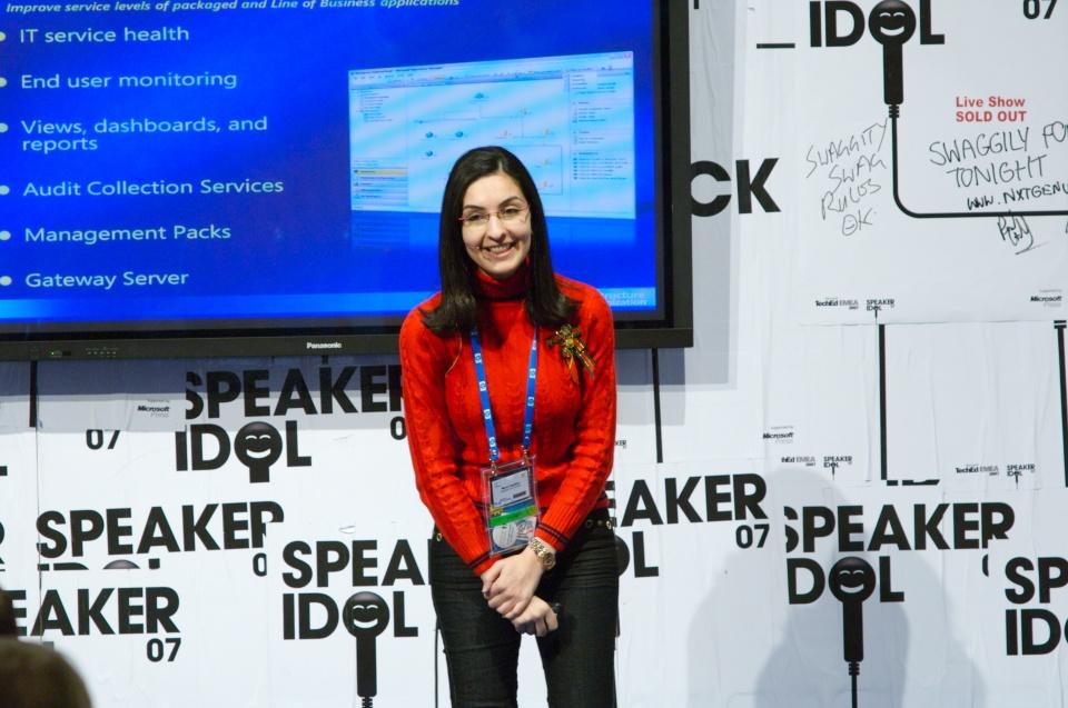 Speaker Idol by Microsoft