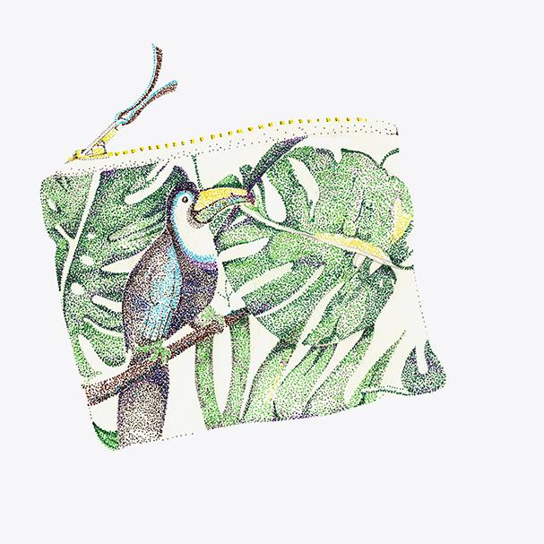 Pochette Toucan