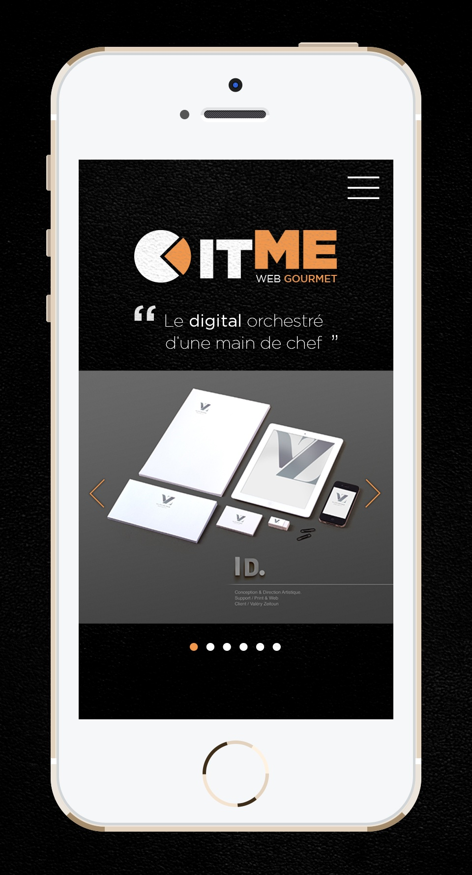 SITE MOBILE FULL RESPONSIVE