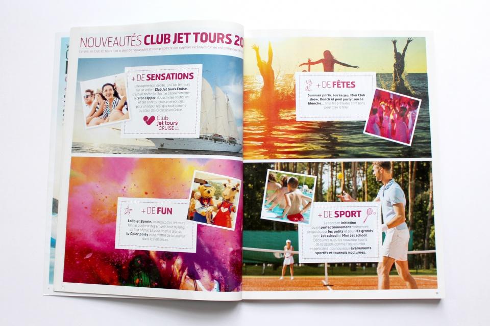 Intérieurs de brochures
