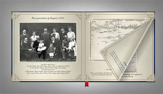 Magnier's family album