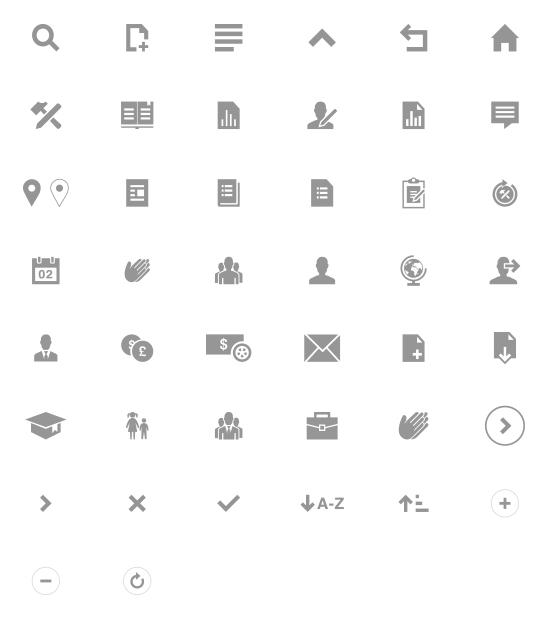 TBFF - Icones