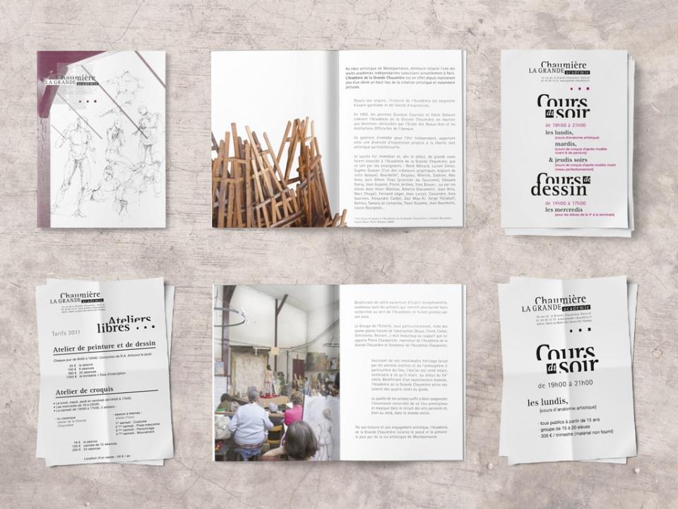 Brochure, affiche & fiches