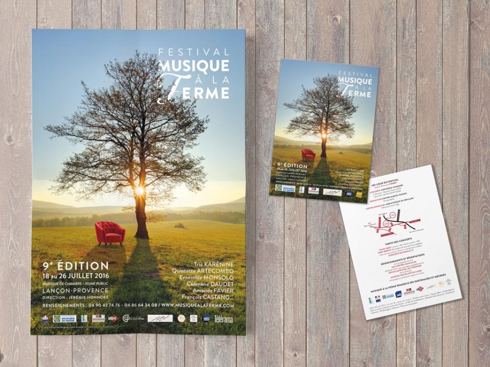 Affiche & flyer du Festival