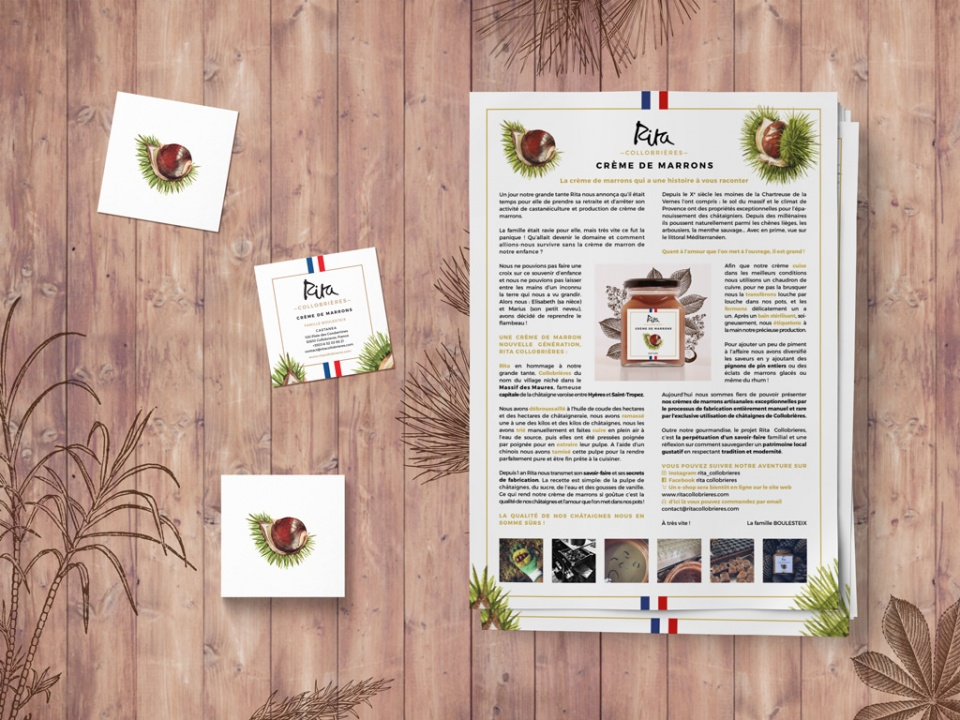Papeterie & Dossier de presse