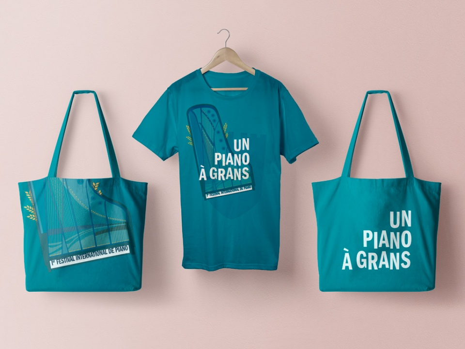 Tote bag & T-shirt du Festival